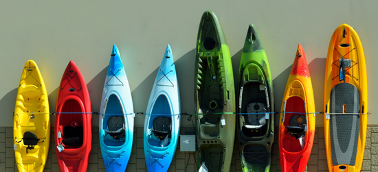 kayak rental service
